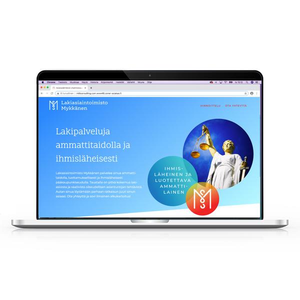 hanna-ekegren-design-yritysilme-graafista-suunnittelua-palvelut-verkkosivustot-kannettavatietokone-naytolla-verkkosivu